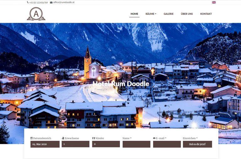 Hotel complete website demo